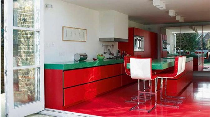 La couleur rouge passion au sein de votre maison
