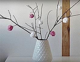 Fleurs décoratives