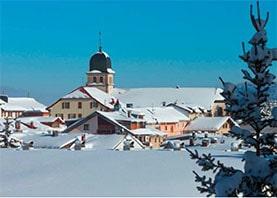 Promenade hivernale dans le Jura