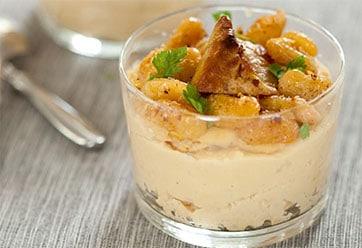Verrines crousti-fondantes de Haricots Tarbais au foie gras