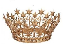 couronne en métal