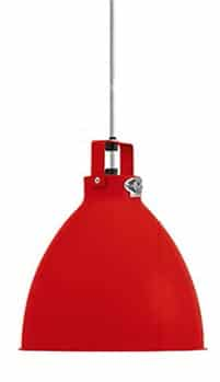 suspension rouge « Augustin Small »