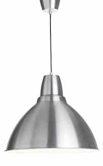 Suspension en aluminium laqué