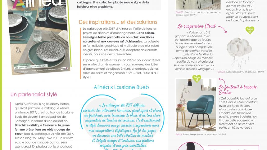 nouveau catalogue t alinea maisons vivre magazine. Black Bedroom Furniture Sets. Home Design Ideas