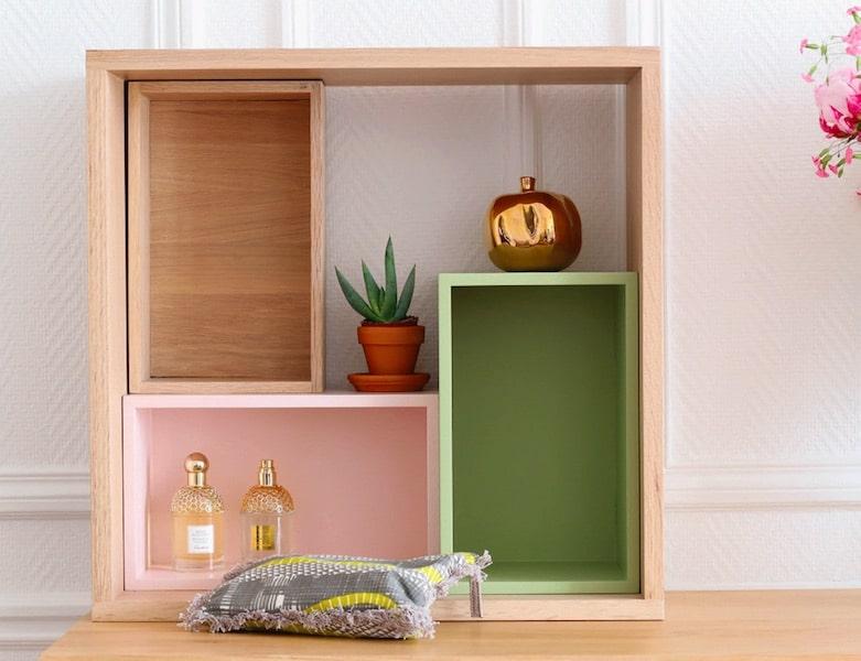 bloc de rangement modulable maisons vivre magazine. Black Bedroom Furniture Sets. Home Design Ideas