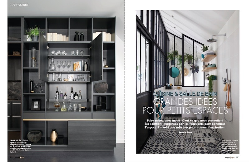 optimiser l 39 espace cuisine et salle de bain maisons vivre magazine. Black Bedroom Furniture Sets. Home Design Ideas