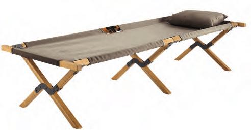 Selous le lit de camp pliable