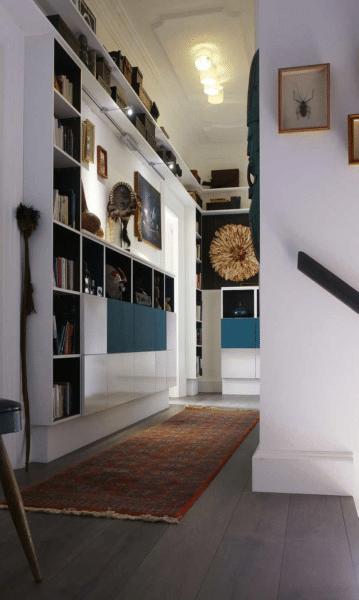 Des effets spacieux pour votre couloir