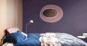 Chambre couleur pourpre
