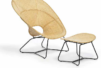 Fauteuil et footstool - FeelGood Design