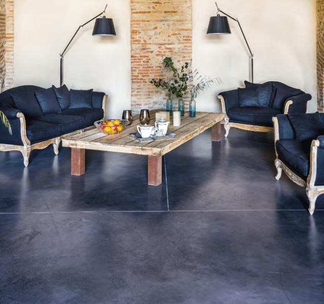 Le béton dans la maison : allégé, inventif et résistant