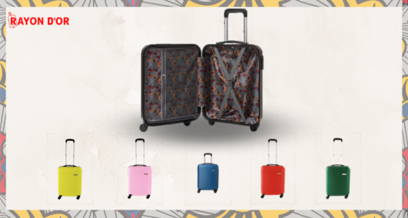 Valise cabine wax - Rayon d'Or