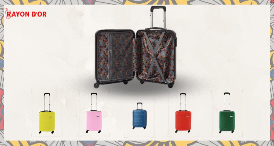 Une valise haute en couleurs