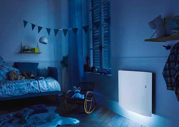 Le radiateur qui illuminera votre intérieur