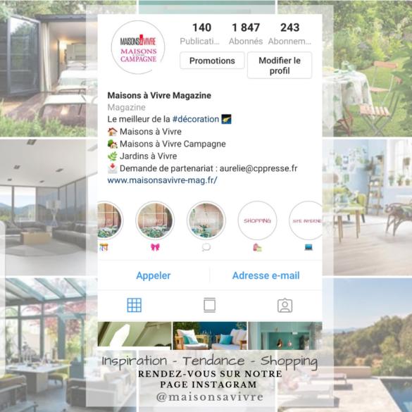Instagram - Maisons à Vivre