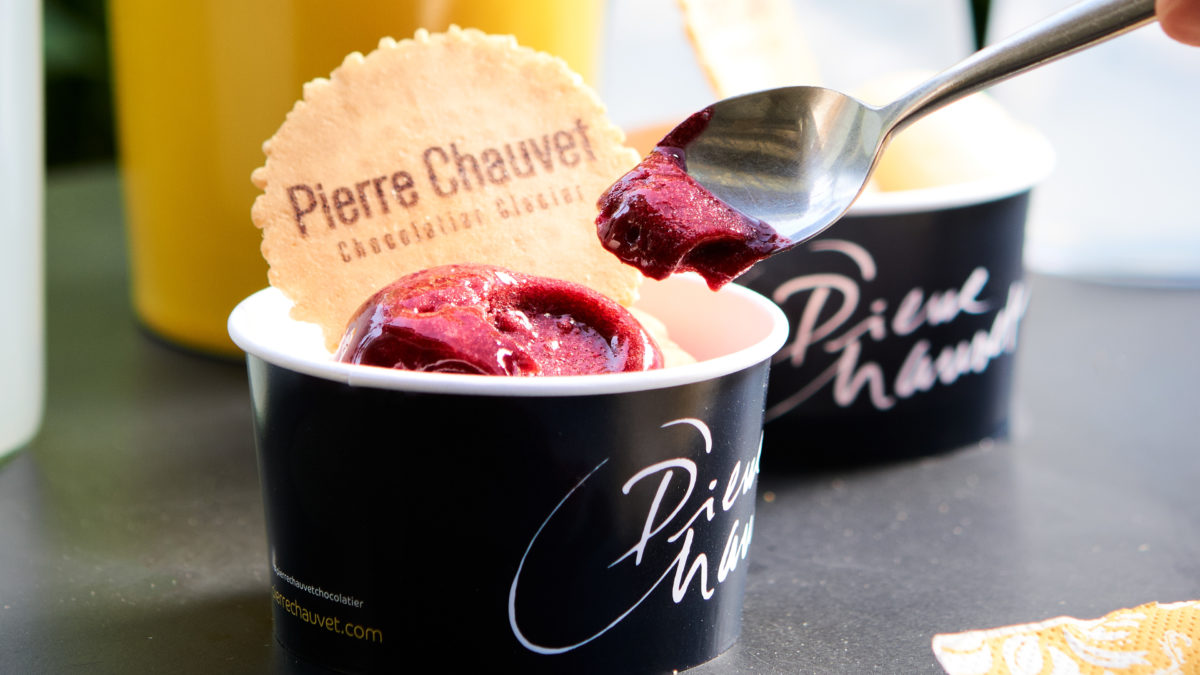 Pierre Chauvet :les glaces de l'été