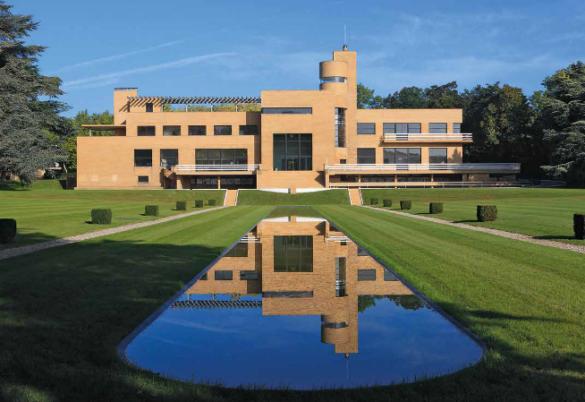 Balade dans le moderniste dans la Villa Cavrois