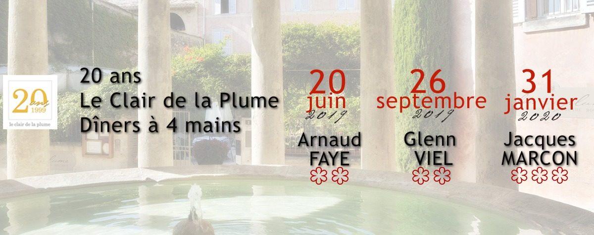 Le Clair de la Plume à Grignan a 20 ans !