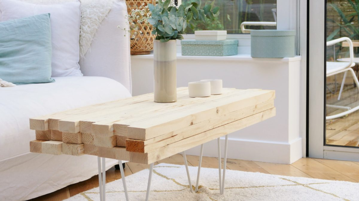 Tuto DIY : table basse hygge by SADER