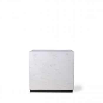 6 : Table carrée marbre 319 euros - DRAWER
