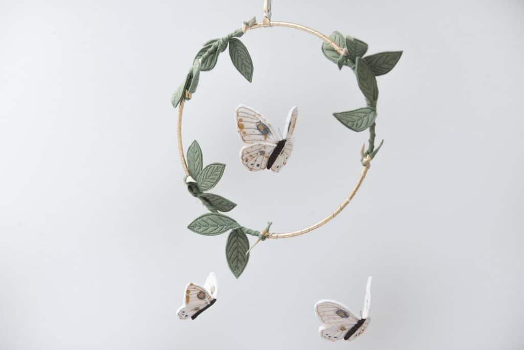 BabyJivesCo – Mobile Papillon – 130 €