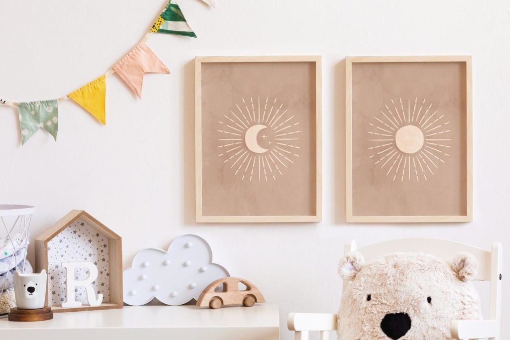 PrintberryKids – Affiches Sun et Moon à télécharger – 9 €