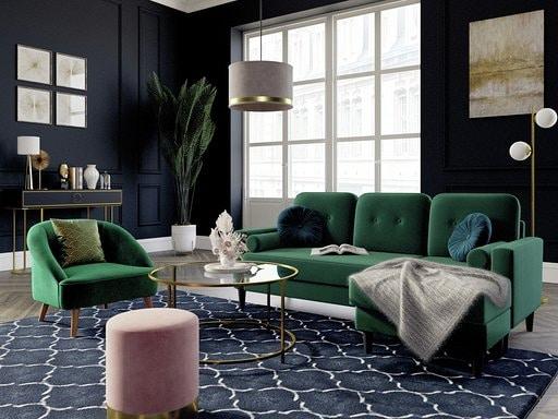 Matières chaudes, couleurs vives, canapés et fauteuils réchauffent votre intérieur