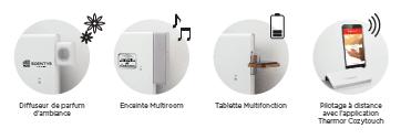 Contrôleur WiFI pour radiateurs électriques à fil pilote eCOSY 54,90 euros