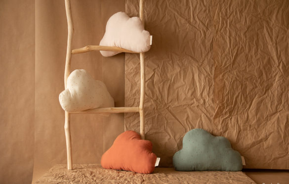 Coussin Cloud toffee. Nobodinoz,19,95 €