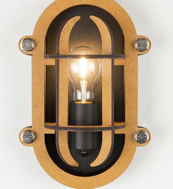 Lampe murale Navigator black Matières 119€ Zuiver