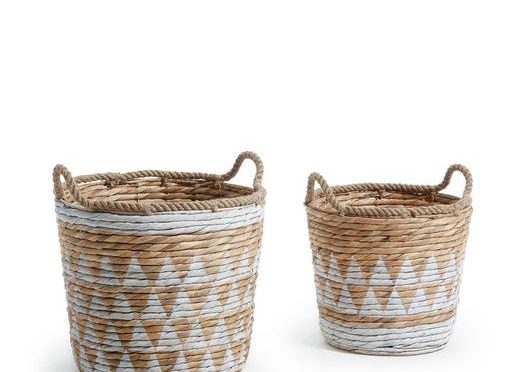 Panier Maja en fibres naturelles. Drawer, 45€