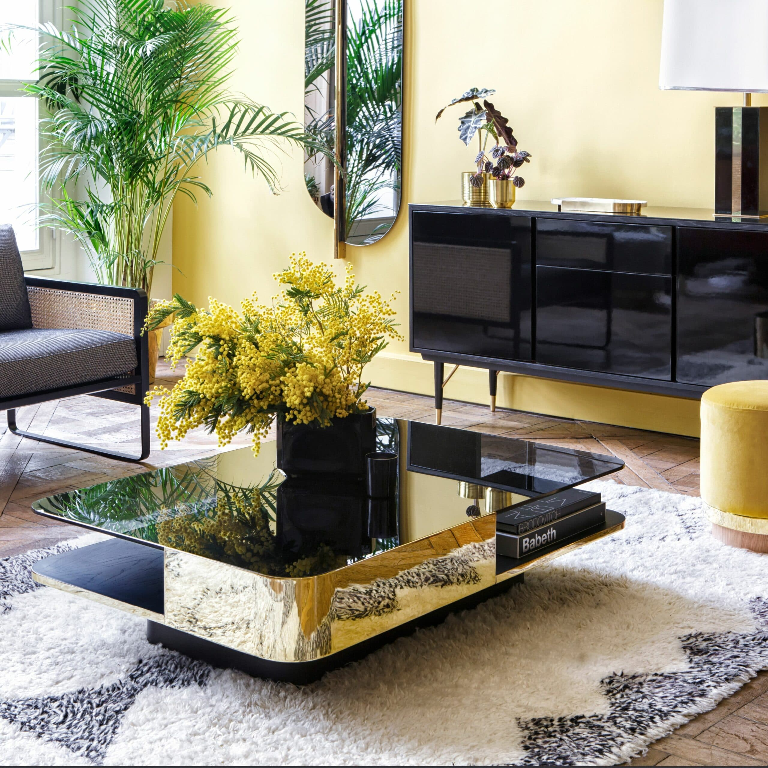 Table lounge gris