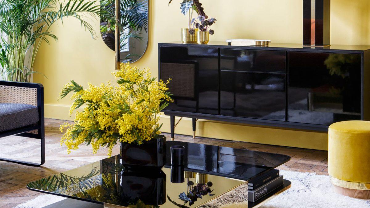 Notre shopping pour une décoration chaleureuse et élégante : Cap sur le jaune et le gris!