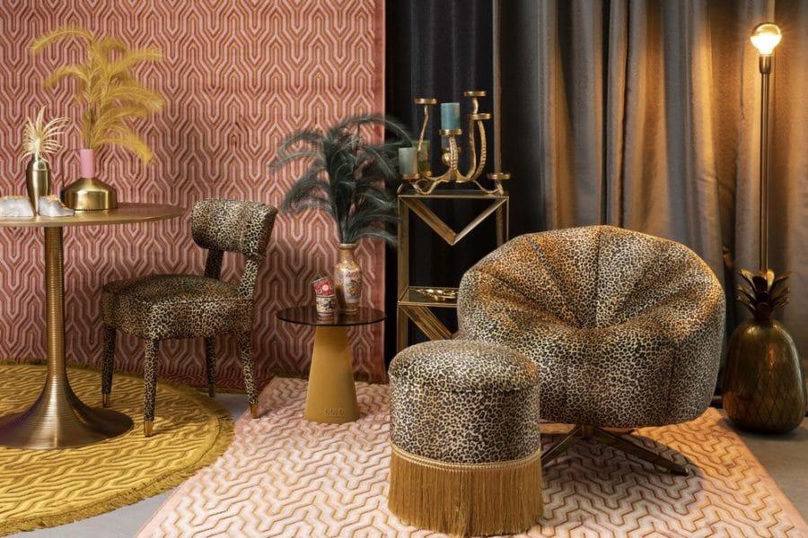 Bold Monkey fauteuil leopard
