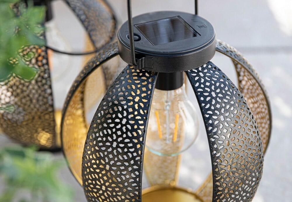 Décoration extérieure BOTANIC lanterne solaire