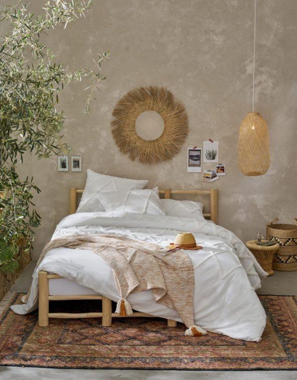 chambre décoration bohème