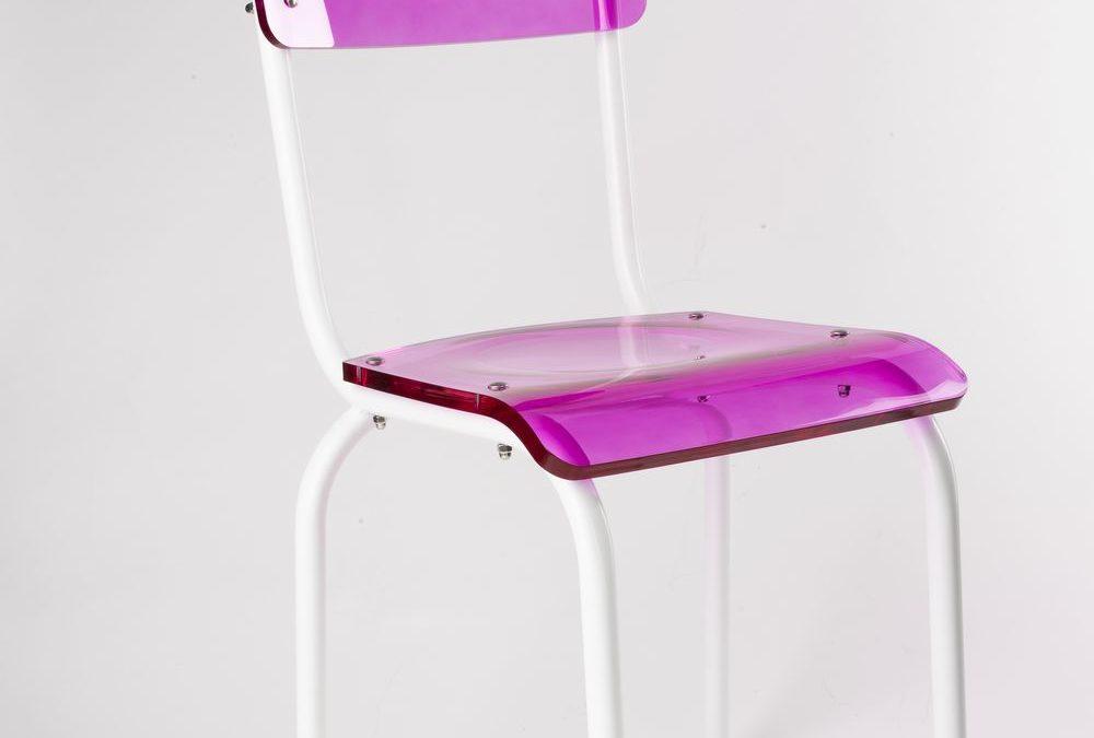 Les Adulescentes: chaises iconiques de Laurent Badier Design
