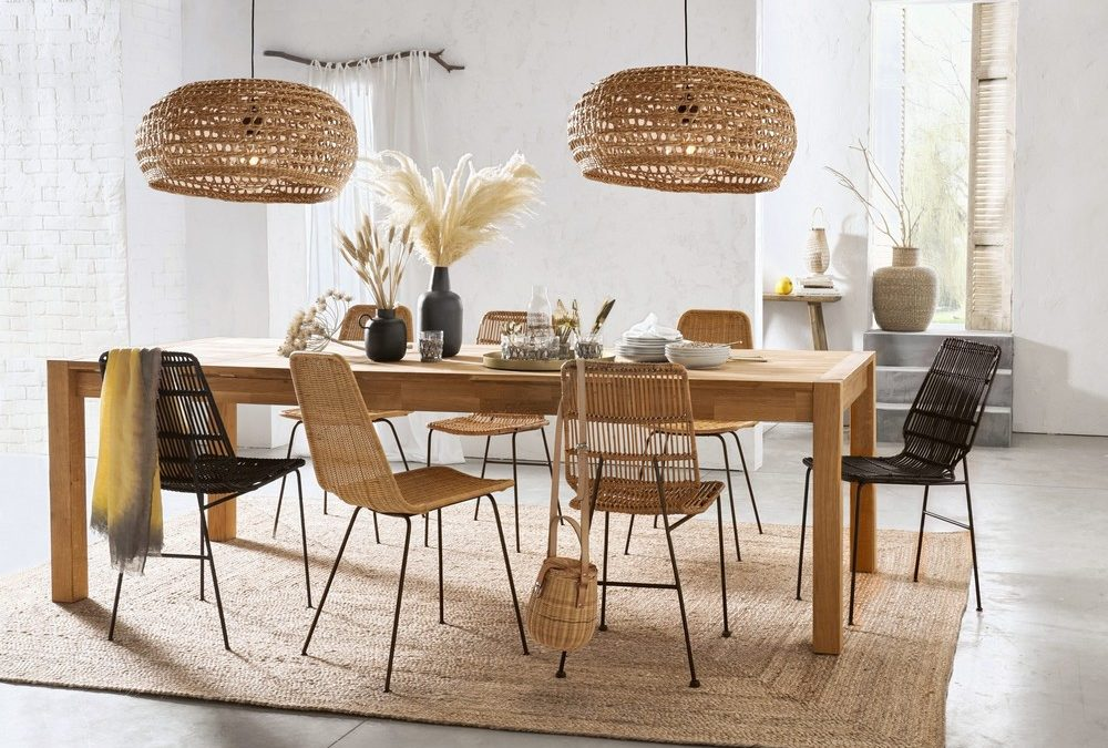 La décoration passe à table (en bois)