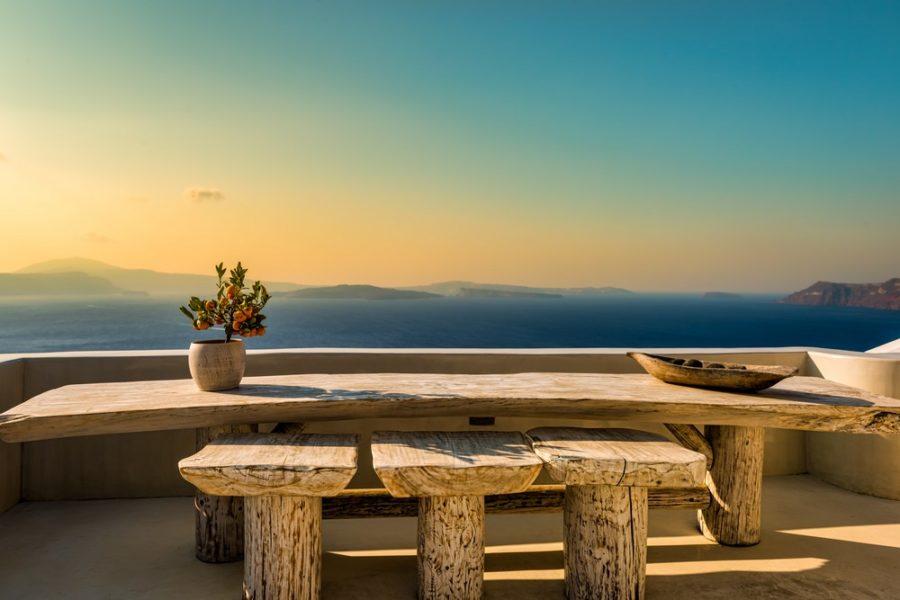 table bois brut mer