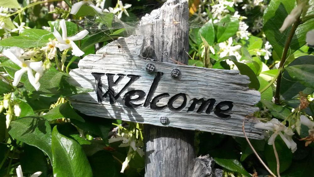 welcome jardin