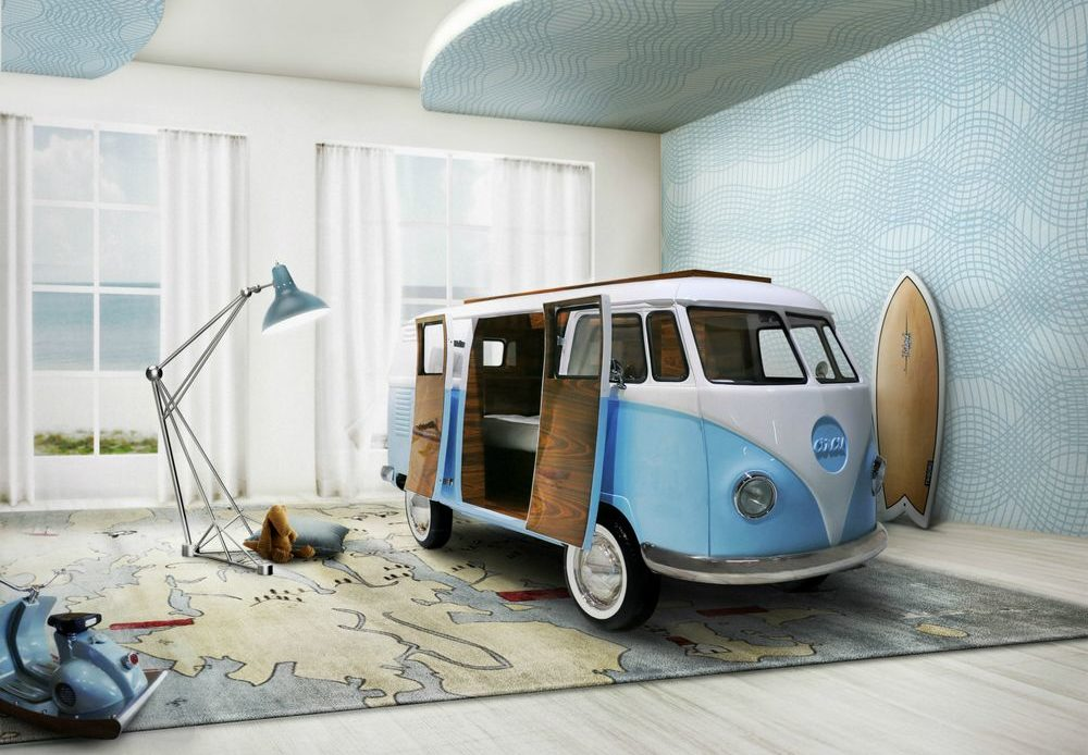 lit cabane van