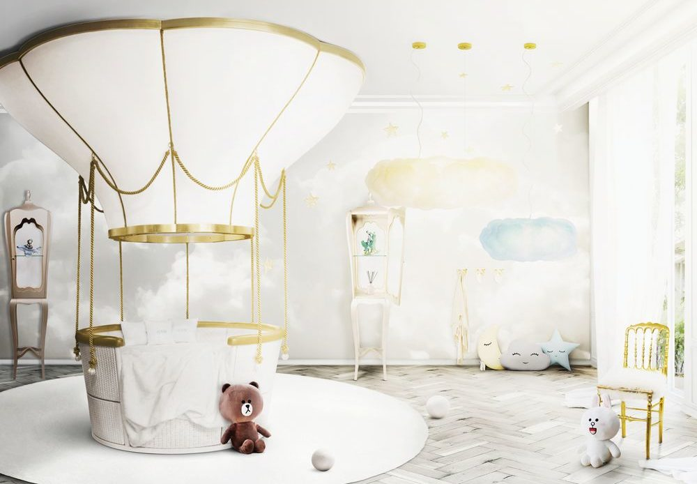 lit cabane montgolfière