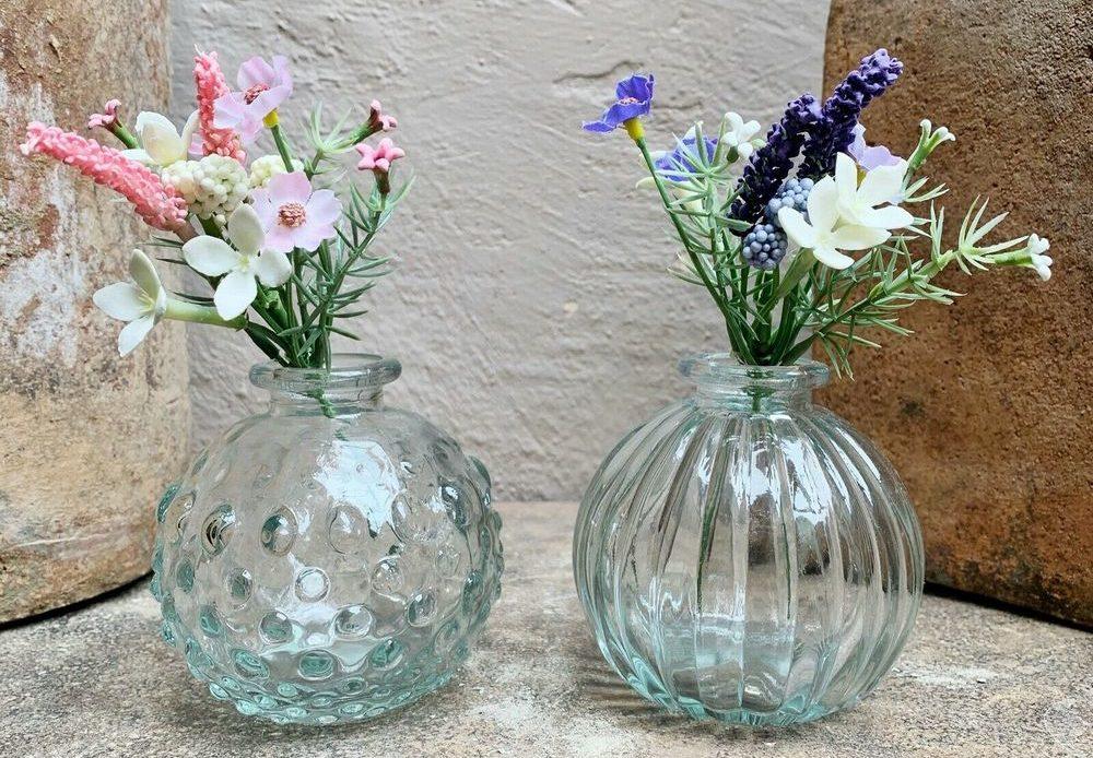 Vases ronds verre