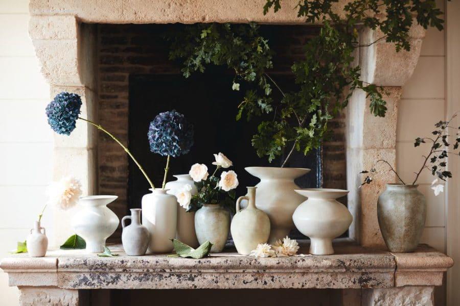 Collection de vases céramique
