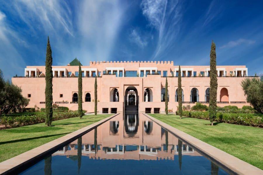 Bienvenue dans la Suite Royale de L'Oberoi à Marrakech