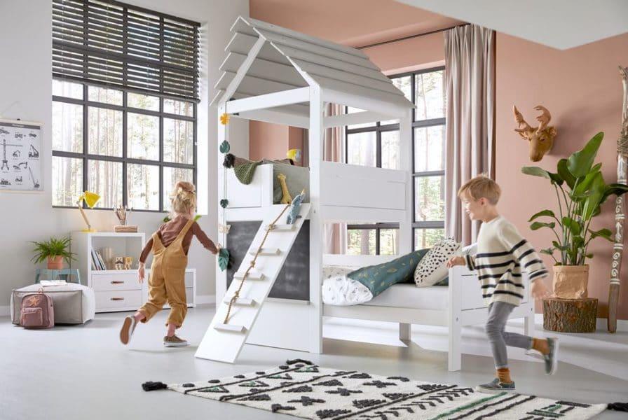 Le lit cabane fait craquer tous les enfants