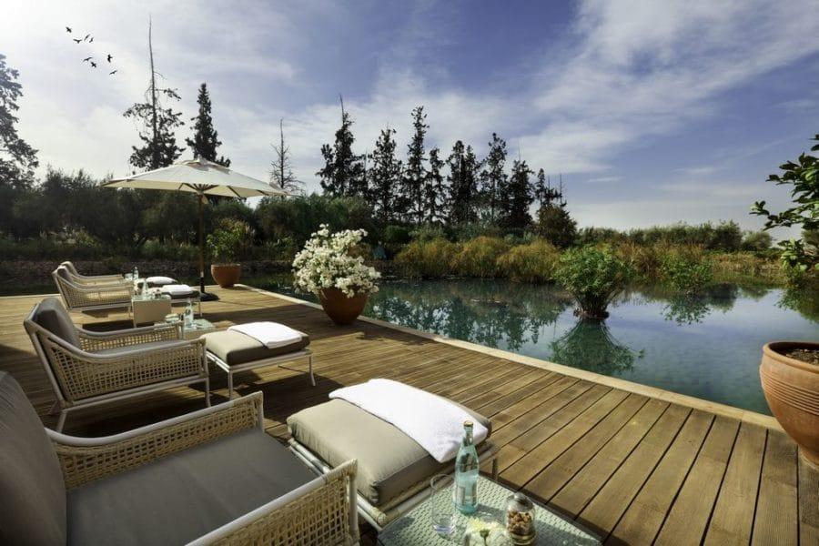 suite royale piscine