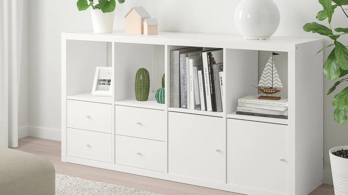 3 idées pour pimper une étagère Kallax Ikea