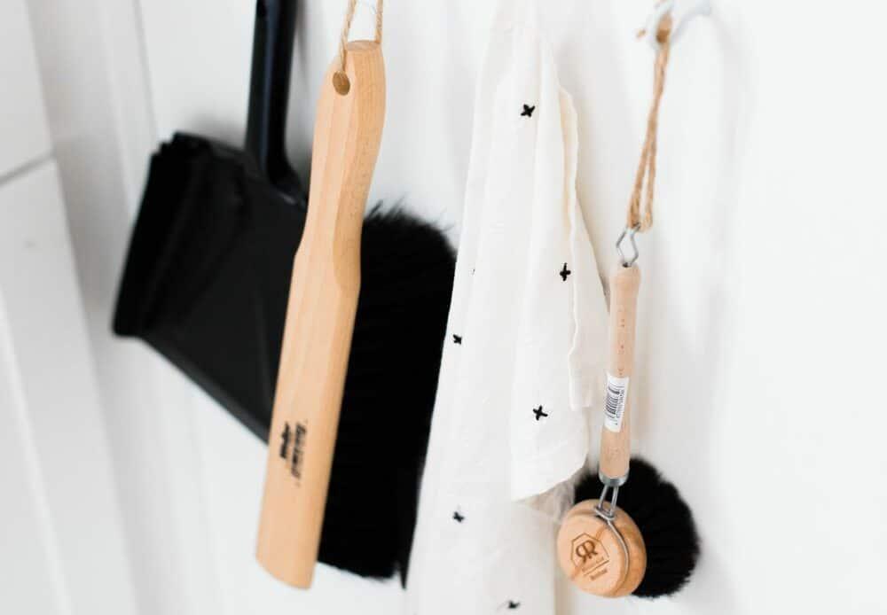 nettoyer pelles et accessoires