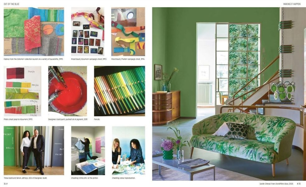 out of the blue designers guild page intérieure
